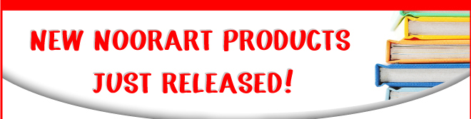 New Noorart Products Just Released!